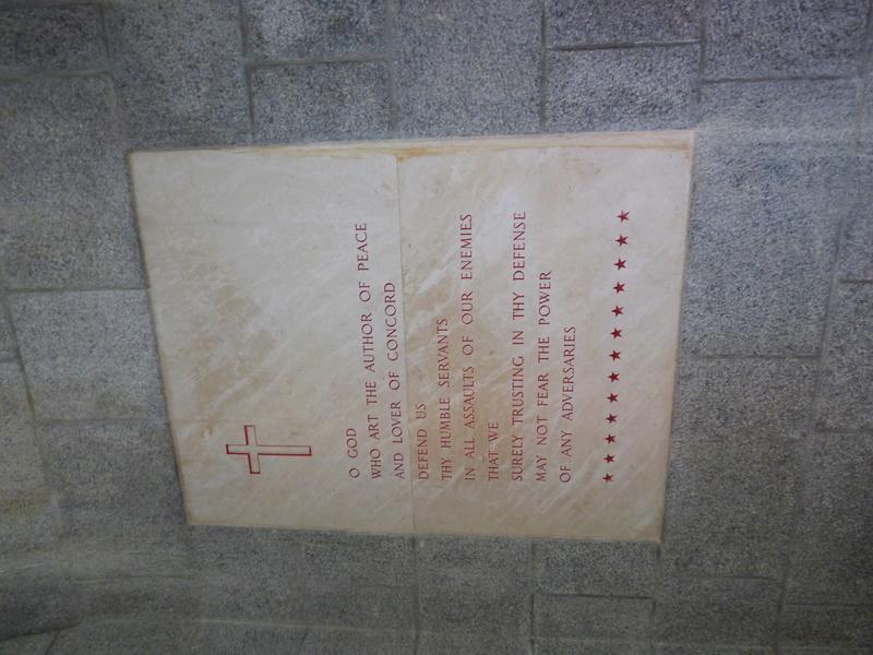 sortie au cimetière américain de st james P1170921