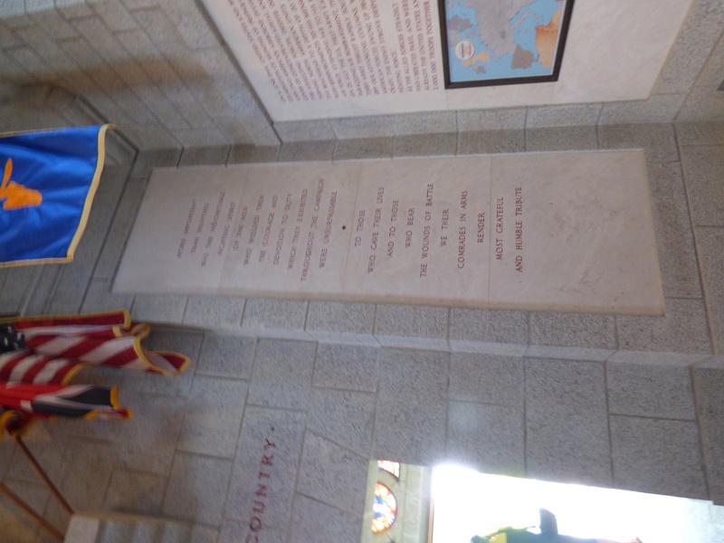 sortie au cimetière américain de st james P1170922