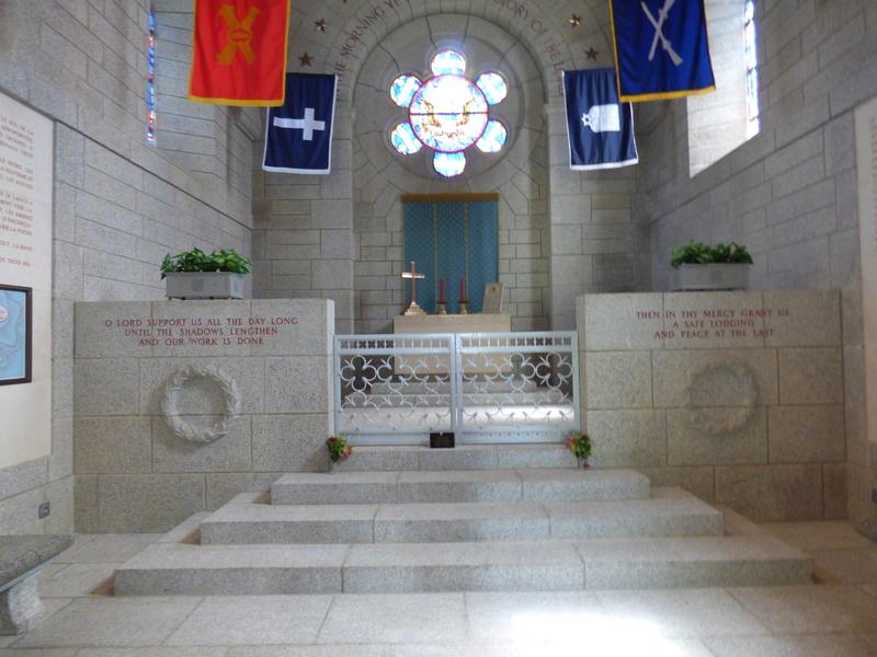 sortie au cimetière américain de st james P1170924