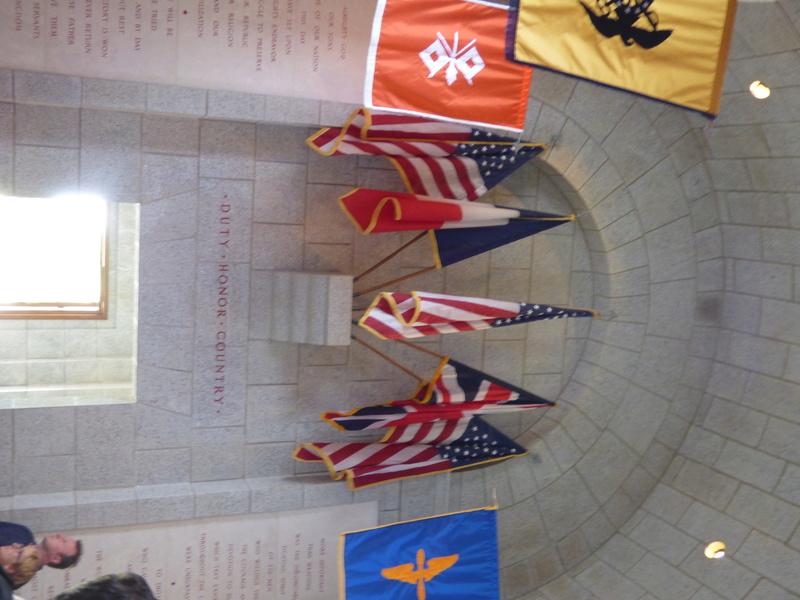 sortie au cimetière américain de st james P1170933