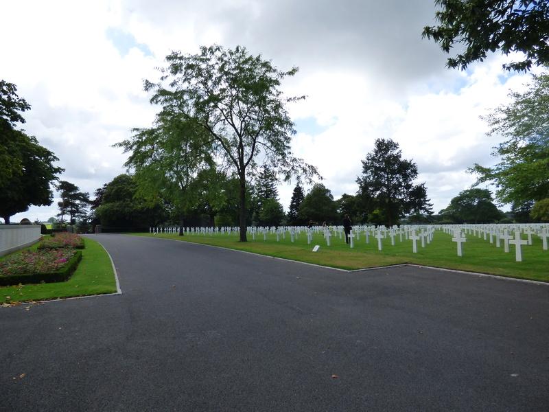 sortie au cimetière américain de st james P1170935