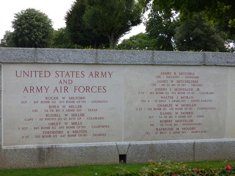 sortie au cimetière américain de st james P1170936