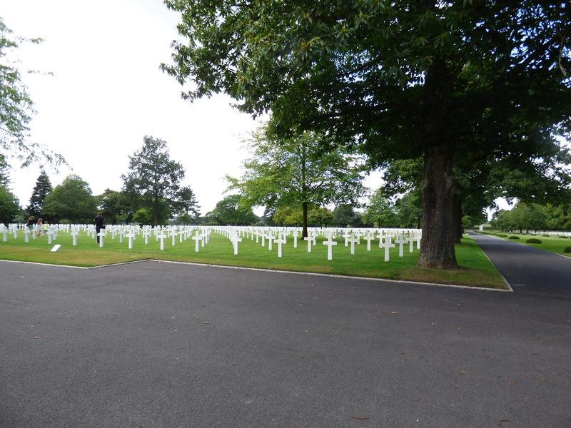 sortie au cimetière américain de st james P1170937