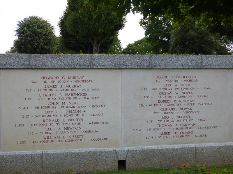 sortie au cimetière américain de st james P1170938