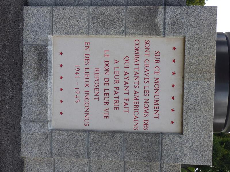 sortie au cimetière américain de st james P1170939