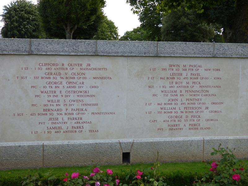 sortie au cimetière américain de st james P1170941