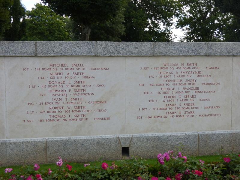 sortie au cimetière américain de st james P1170942