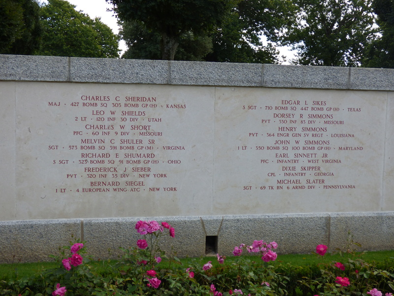 sortie au cimetière américain de st james P1170943