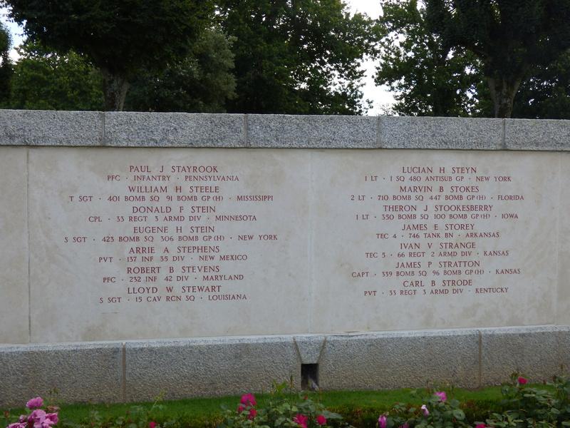 sortie au cimetière américain de st james P1170945