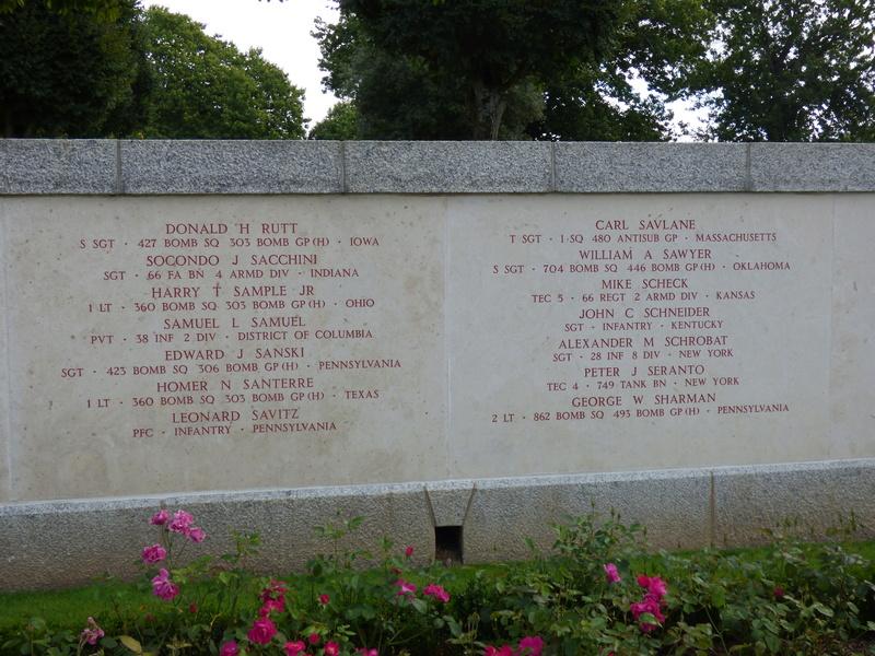 sortie au cimetière américain de st james P1170946