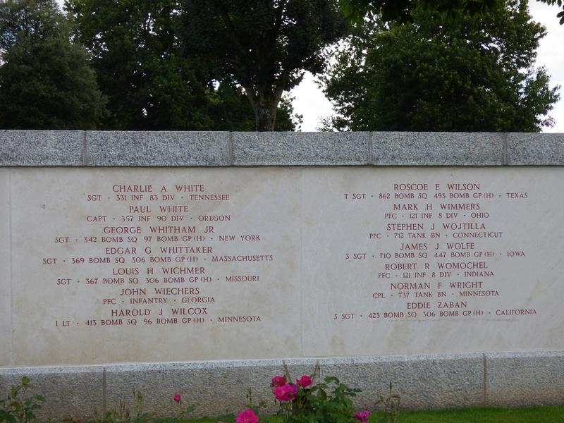 sortie au cimetière américain de st james P1170952