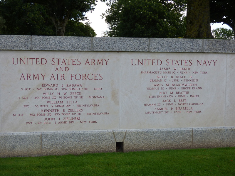 sortie au cimetière américain de st james P1170953