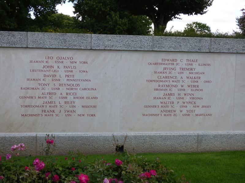 sortie au cimetière américain de st james P1170955