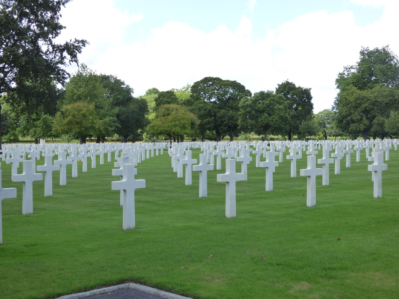 sortie au cimetière américain de st james P1170956