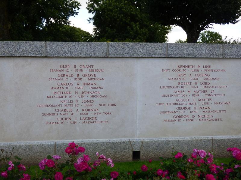 sortie au cimetière américain de st james P1170957