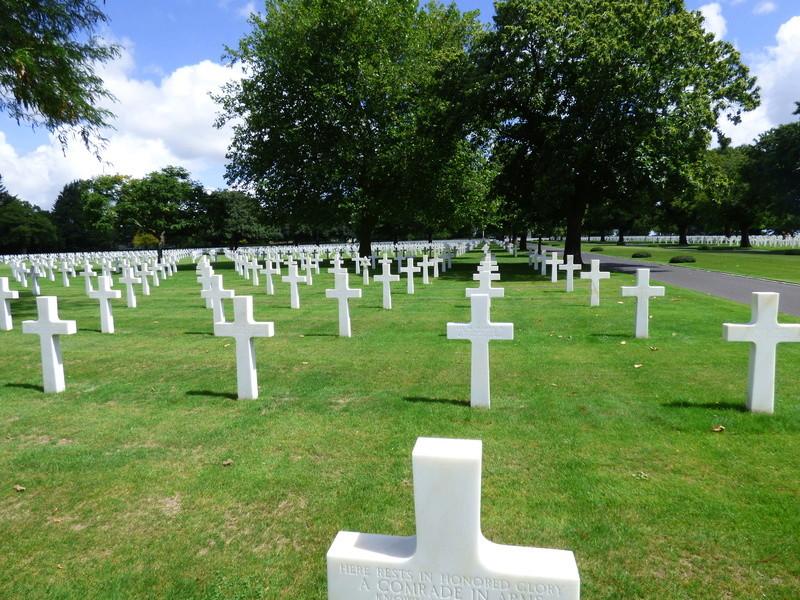 sortie au cimetière américain de st james P1170960