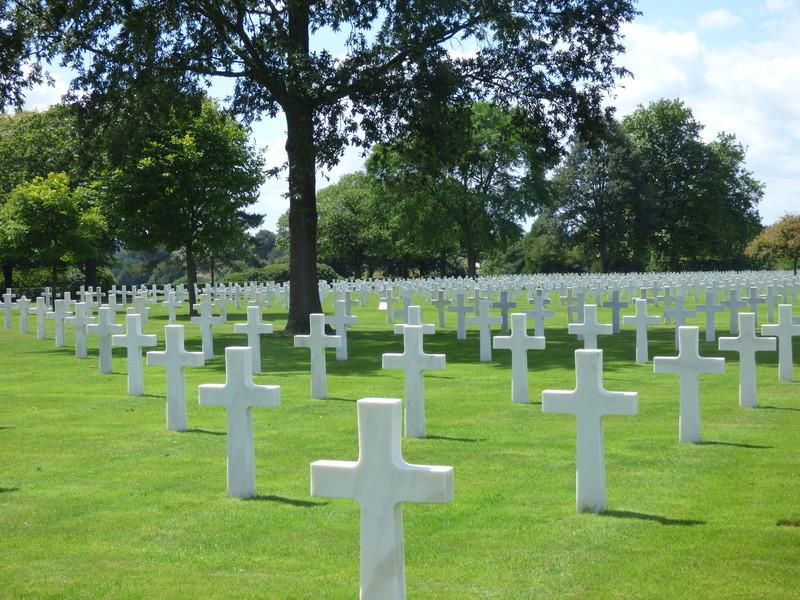 sortie au cimetière américain de st james P1170961