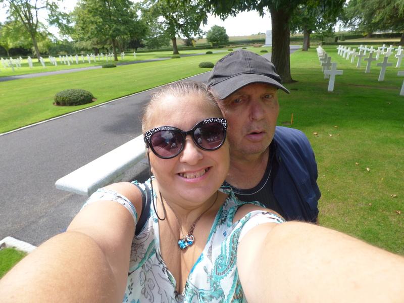 sortie au cimetière américain de st james P1170963