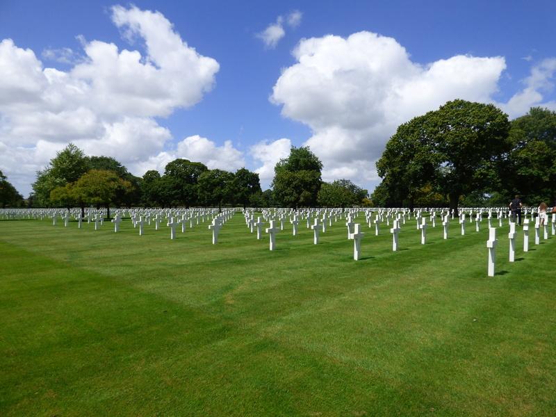 sortie au cimetière américain de st james P1170964