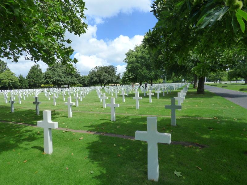 sortie au cimetière américain de st james P1170967