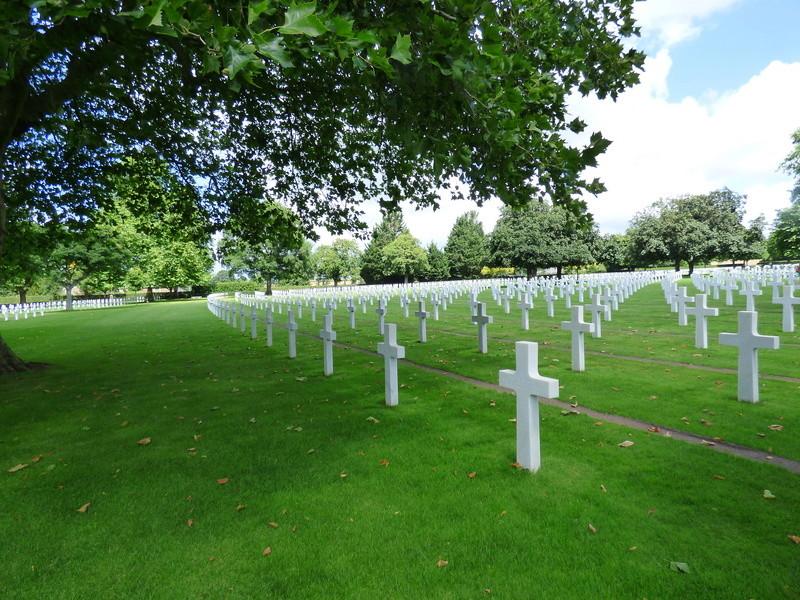 sortie au cimetière américain de st james P1170968