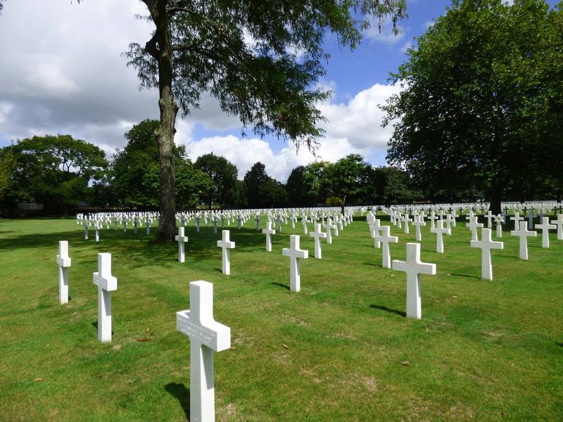 sortie au cimetière américain de st james P1170969