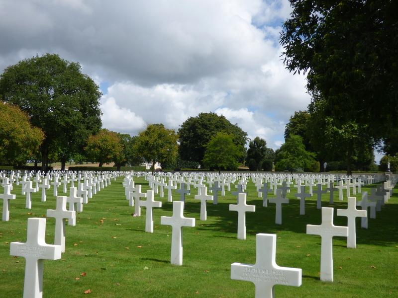 sortie au cimetière américain de st james P1170970