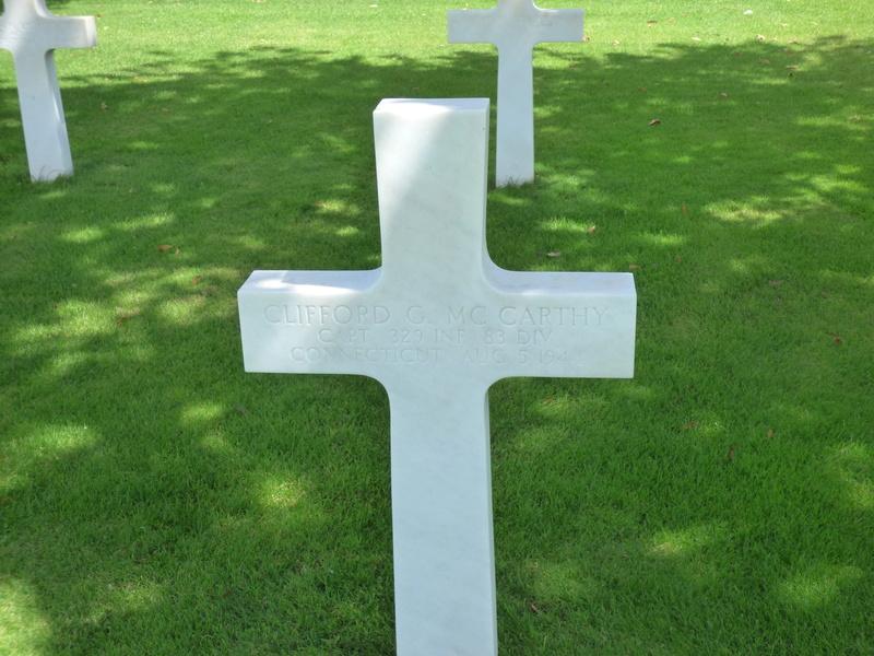 sortie au cimetière américain de st james P1170971