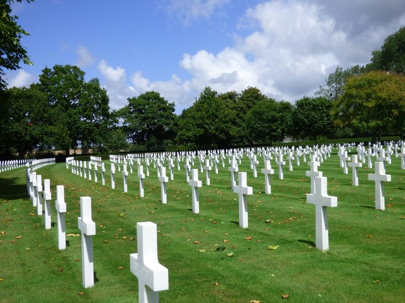 sortie au cimetière américain de st james P1180010