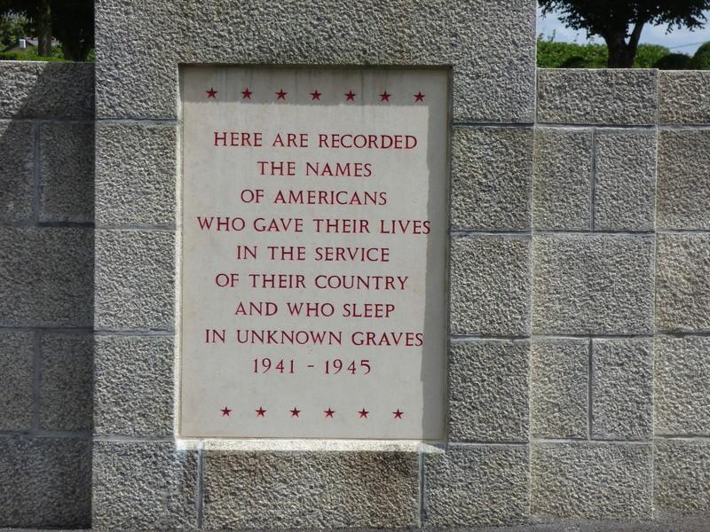 sortie au cimetière américain de st james P1180011