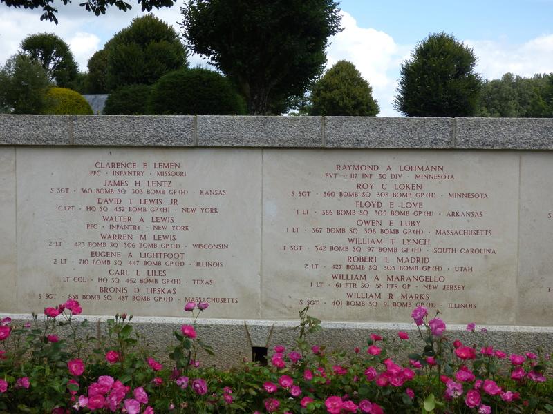 sortie au cimetière américain de st james P1180012
