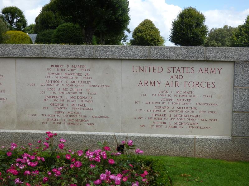 sortie au cimetière américain de st james P1180013