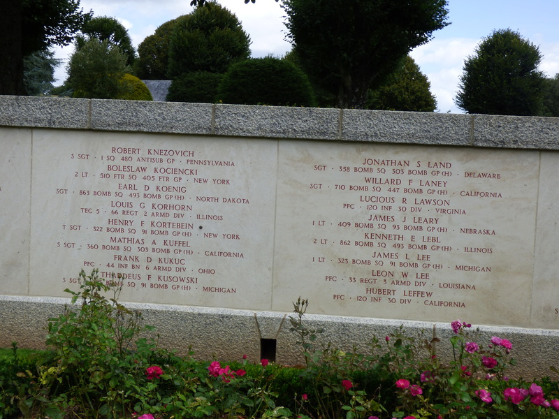 sortie au cimetière américain de st james P1180014