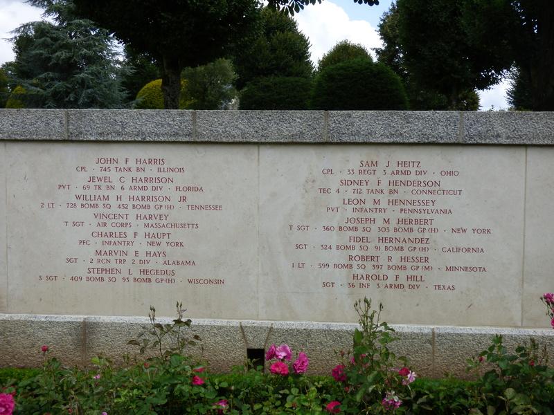 sortie au cimetière américain de st james P1180015