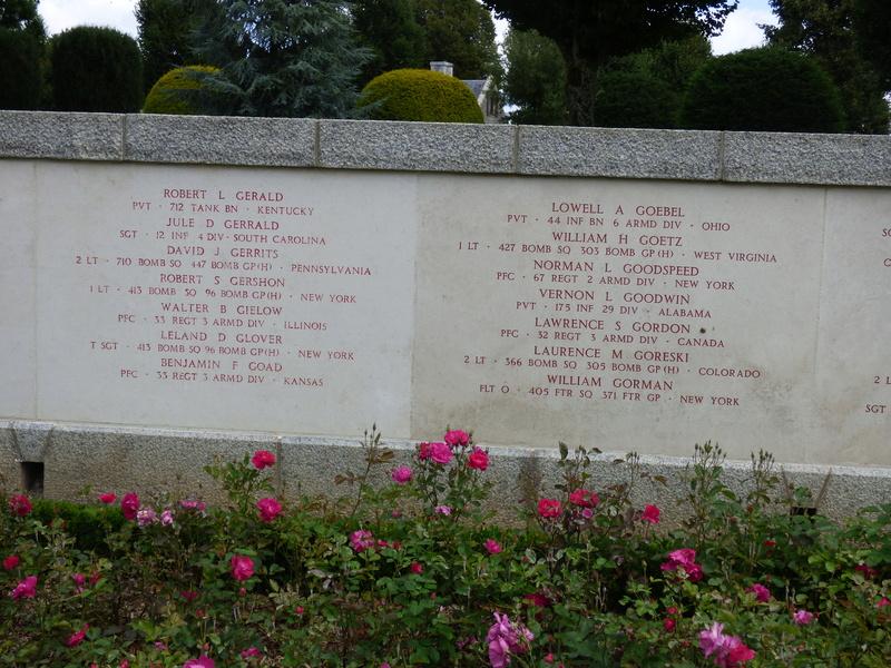 sortie au cimetière américain de st james P1180018