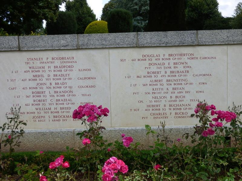 sortie au cimetière américain de st james P1180027