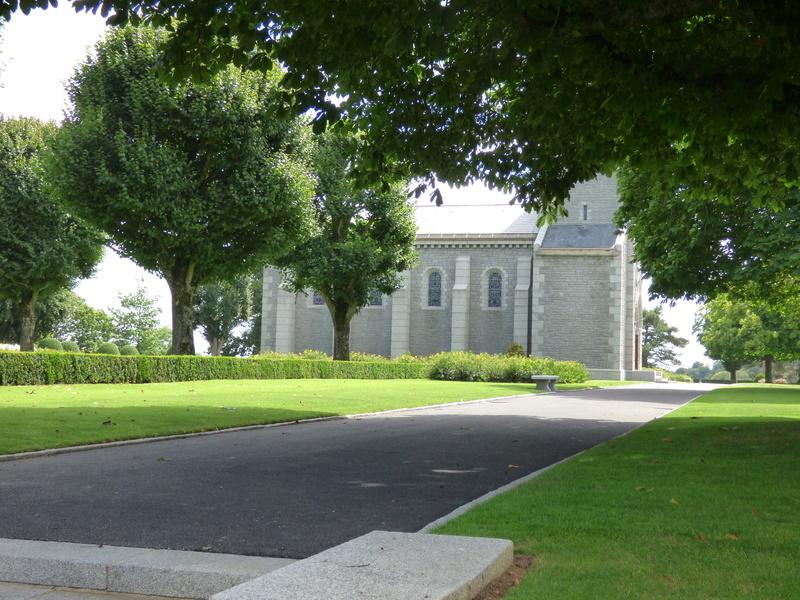 sortie au cimetière américain de st james P1180029