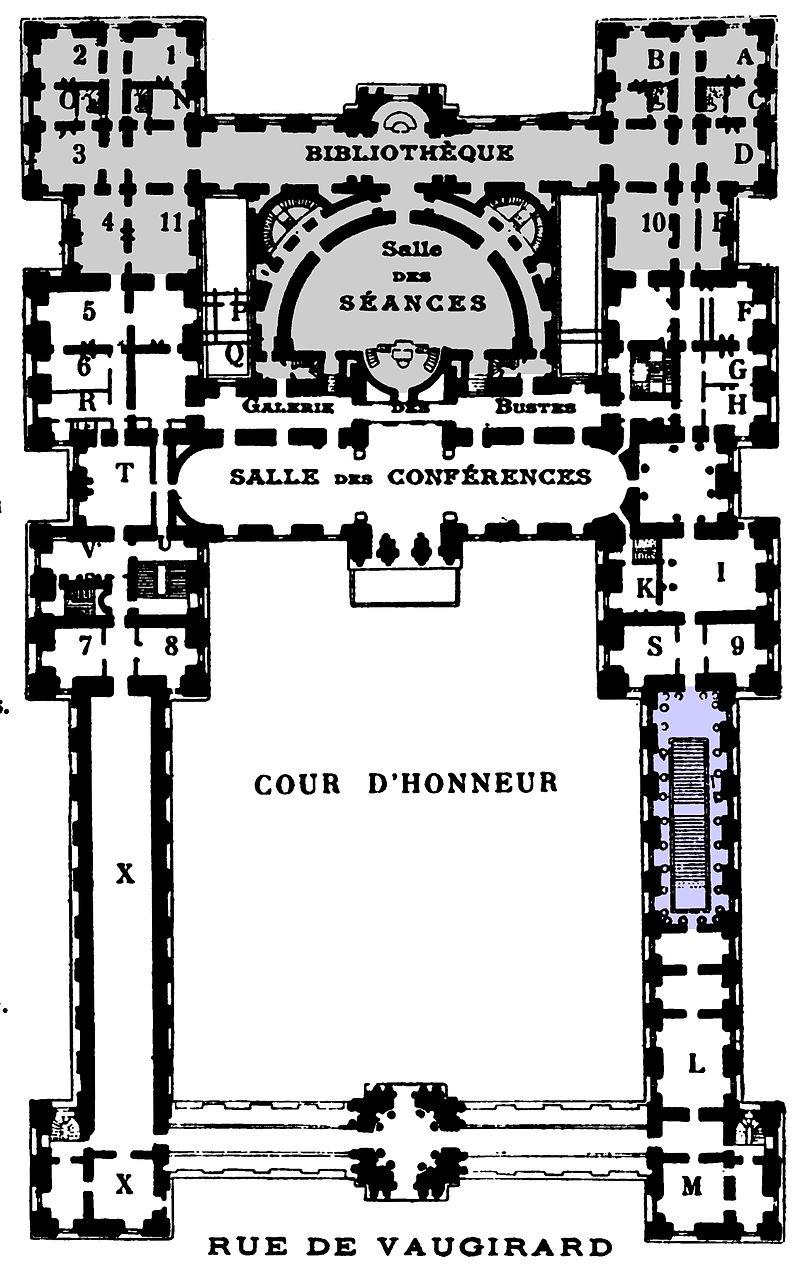 Les châteaux Parisiens Palais20