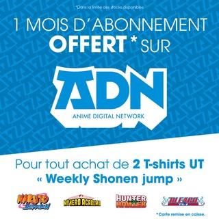 T-Shirts séries du Shonen Jump chez UNIQLO avec offre ADN Dcmccz10