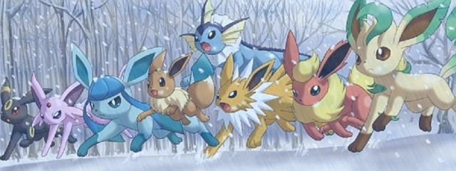 [Pokémon] Évoli et sa famille Maikes10