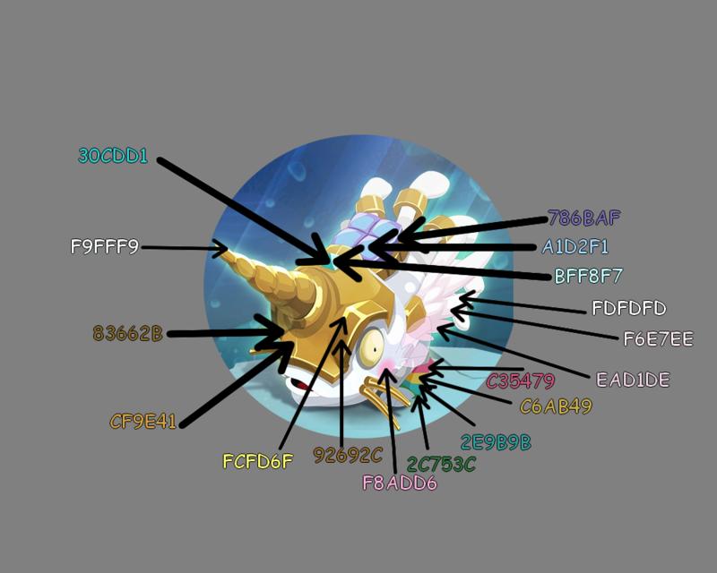 Code couleur muldo Likrone 510
