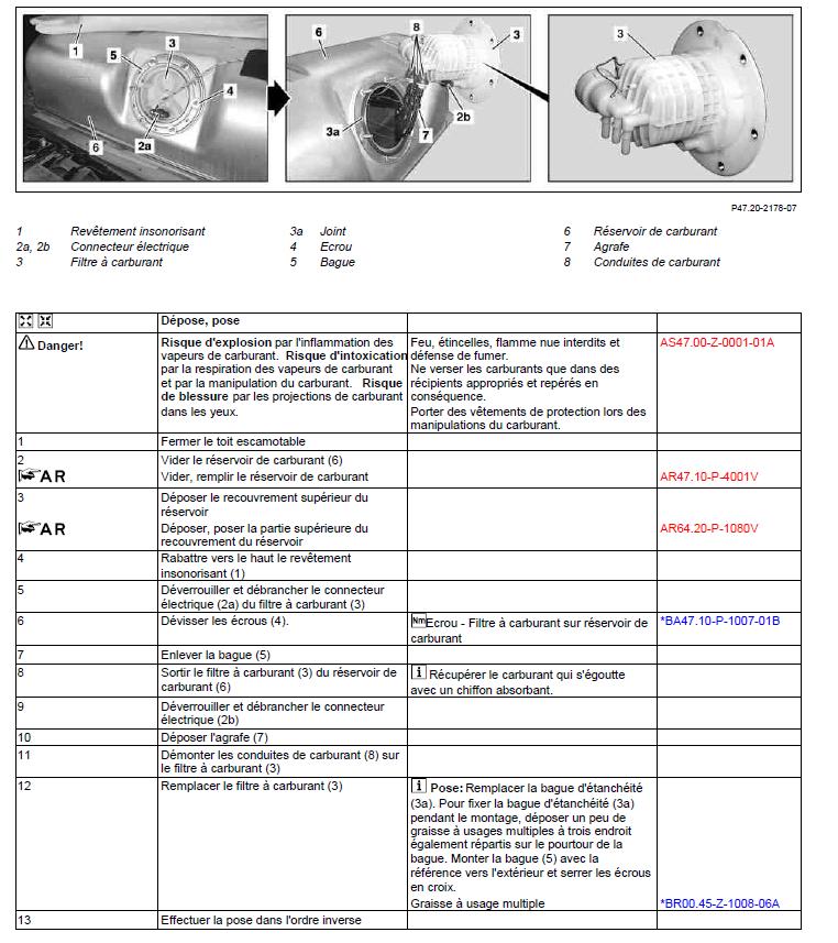 Remplacement filtre à carburant Captur10