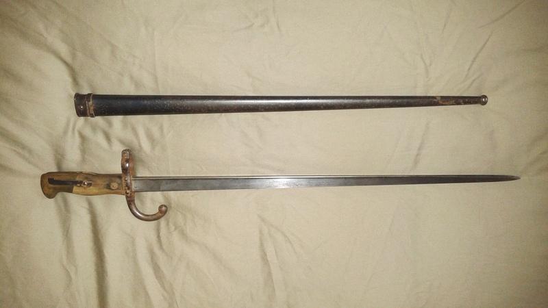 gras baïonnette - L'épée-baïonnette 1874 Gras. 20141117
