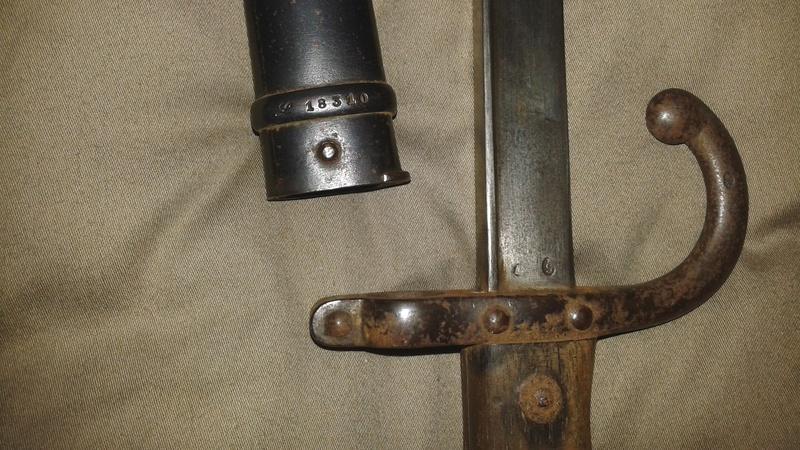 gras baïonnette - L'épée-baïonnette 1874 Gras. 20141122