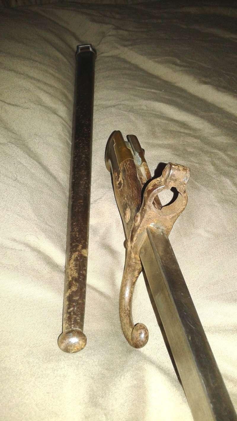 gras baïonnette - L'épée-baïonnette 1874 Gras. 20141125
