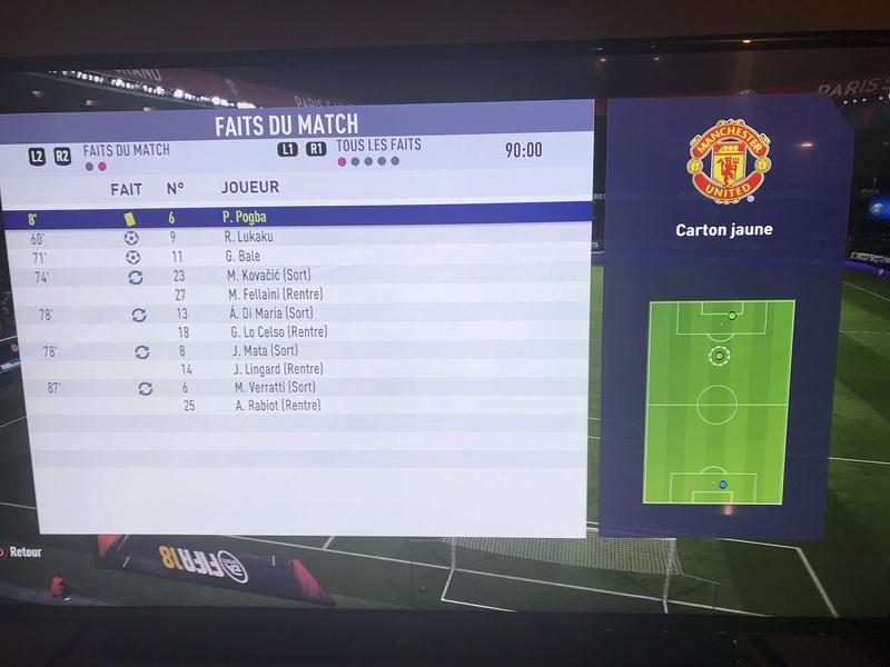 Retour, Paris Saint Germain vs Manchester United D732c110