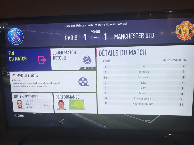 Retour, Paris Saint Germain vs Manchester United Eb1a1010