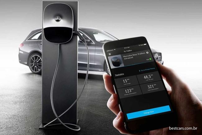 Mercedes associa diesel e eletricidade para Classe C e E Merced16
