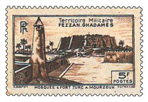 Fezzan 1949 F.F.L. colonne Leclerc Mourzoug 04-30010
