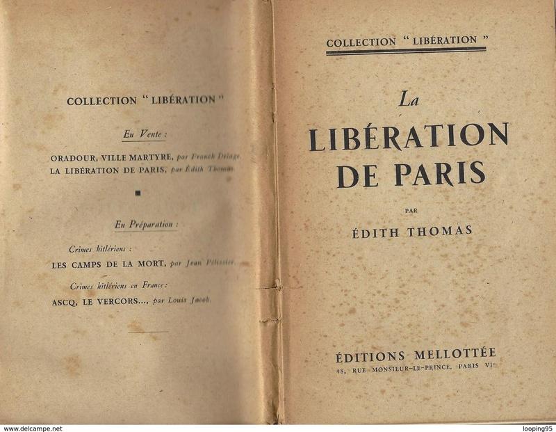La libération de Paris (Edith Thomas) 520_0010